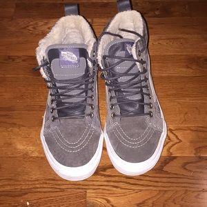 Dark grey Vans